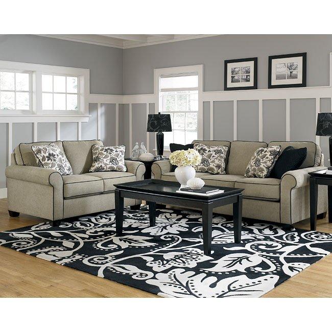 Ashley Furniture From FurniturePick Caroline Sepia Living Room Set Furni
