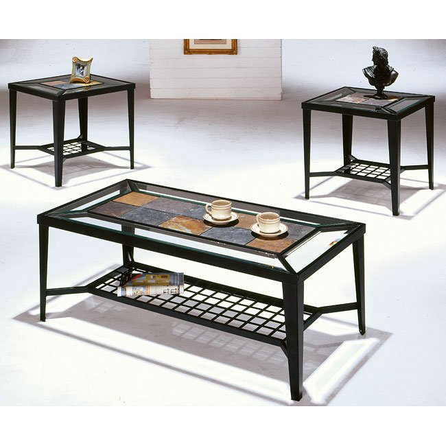 Furniture Living Room Furniture Table Table Set Slate