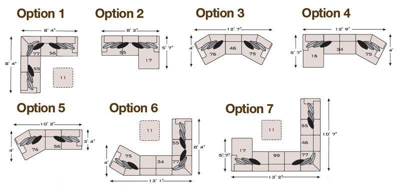 Katisha PlatinumModular Sectional