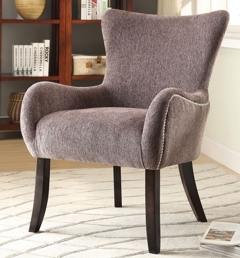 Grey Accent Chair Living Room Furniture Living