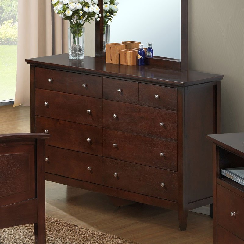 Cappuccino bedroom furniture