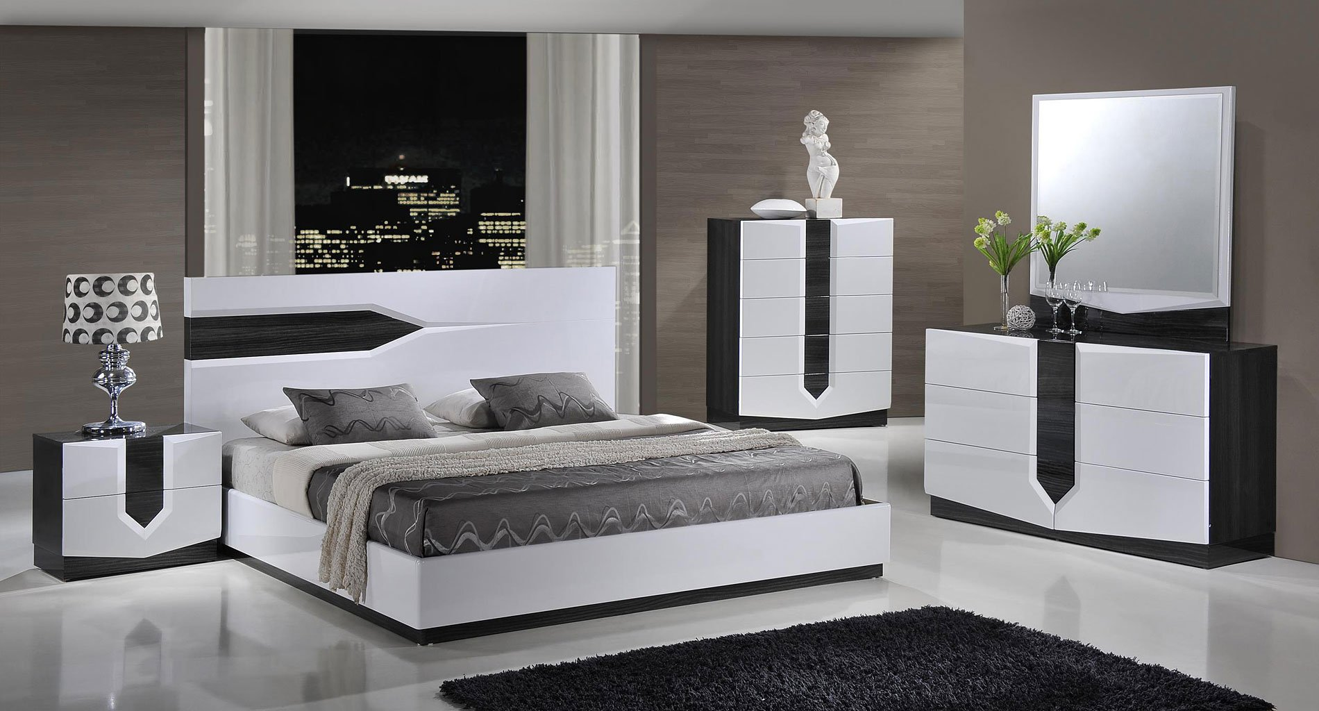 hudson platform bedroom set - Platform Bedroom Sets