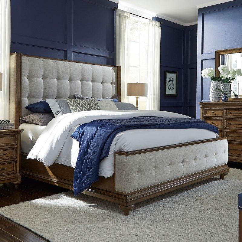 Carrington Upholstered Bed Bedroom Furniture Bedroom - Carrington bedroom furniture