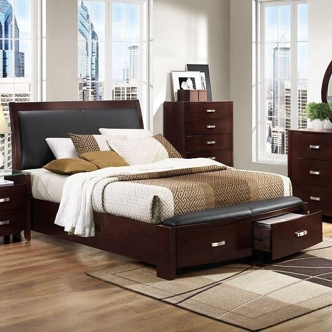 Lyric Storage Bed (Espresso)