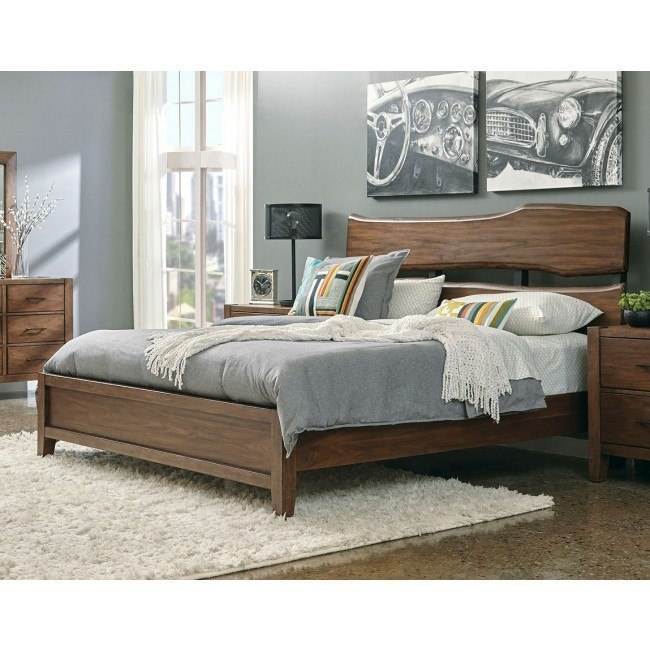 Lincoln Park Live Edge Panel Bed