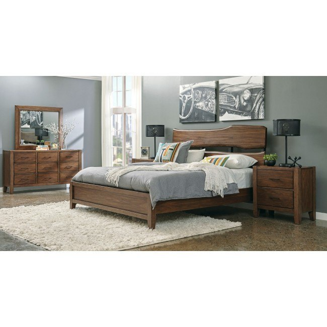 Lincoln Park Live Edge Panel Bedroom Set