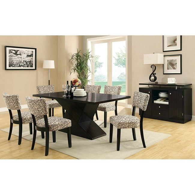 Libby Dining Room Set w/ Pedestal Table
