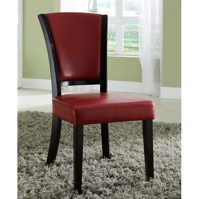 10368 Series Side Chair (Red) (Set of 2)