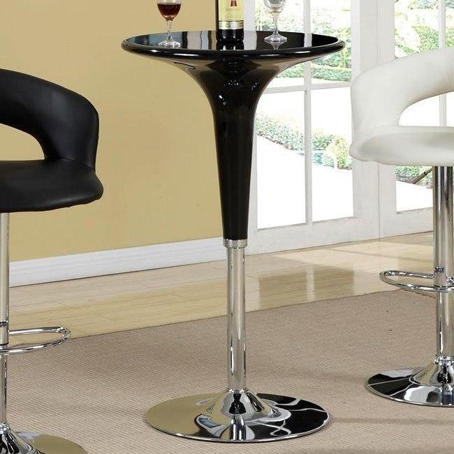 Adjustable Bar Table (Black)