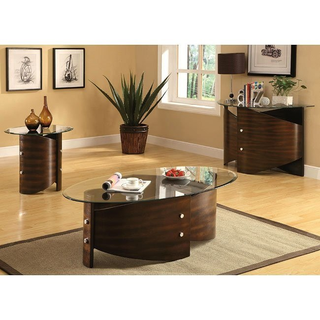 Bentwood Shaped Occasional Table Set