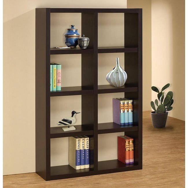 Cappuccino Bookshelf