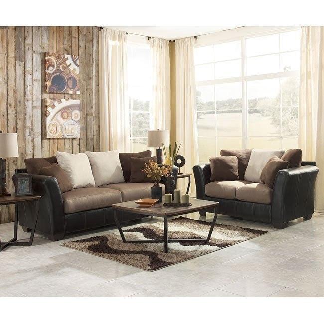 Masoli - Mocha Living Room Set