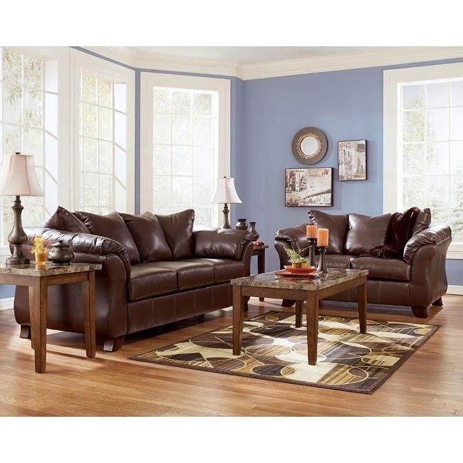San Marco DuraBlend - Bark Living Room Set