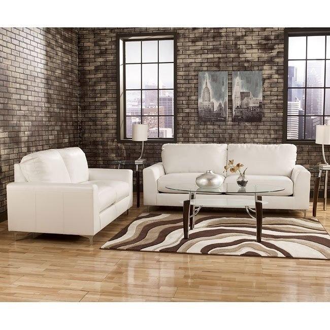 Kanoa DuraBlend Snow Living Room Set