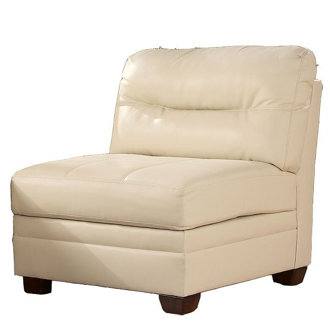 DuraBlend - Ivory Armless Chair