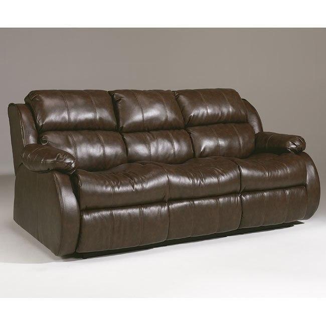 DuraBlend - Cafe Reclining Sofa w/ Dual Massage