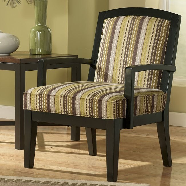 Riley - Slate Showood Accent Chair