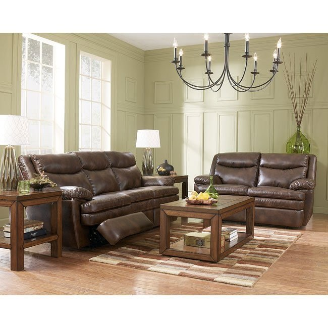 Slater DuraBlend - Sedona Reclining Living Room Set
