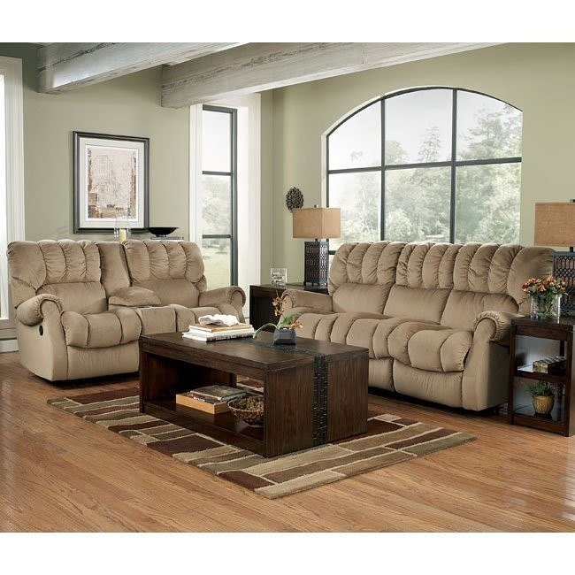 Sorrell - Mocha Reclining Living Room Set