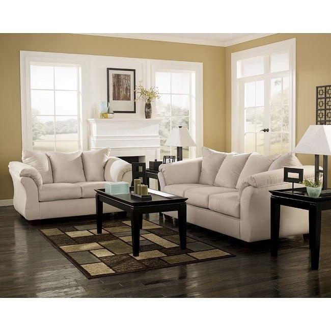 Darcy - Stone Living Room Set