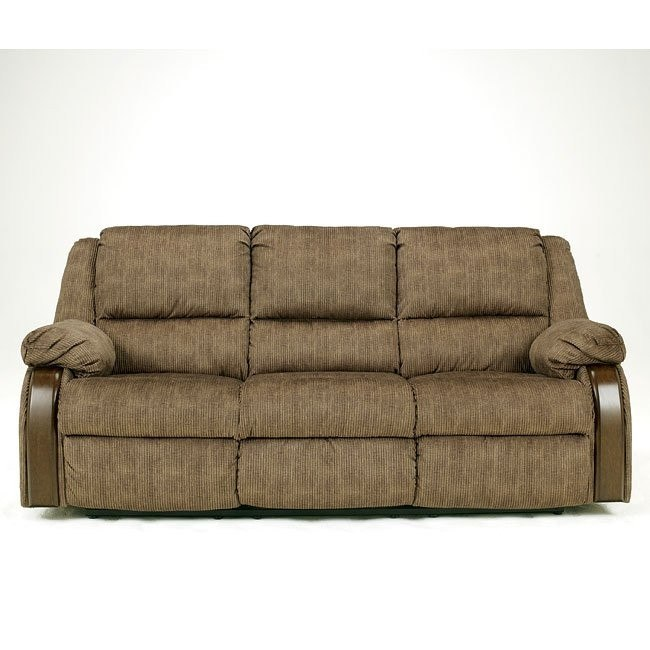 Ashworth - Caramel Reclining Sofa