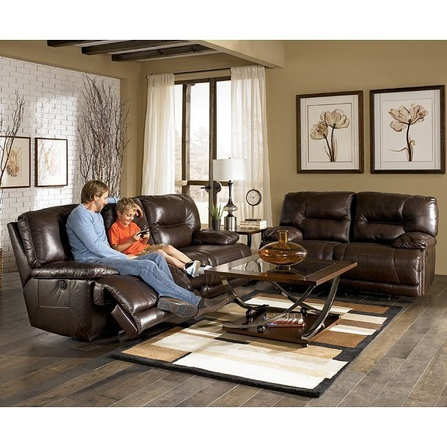 Bromley - Brown Power Reclining Living Room Set