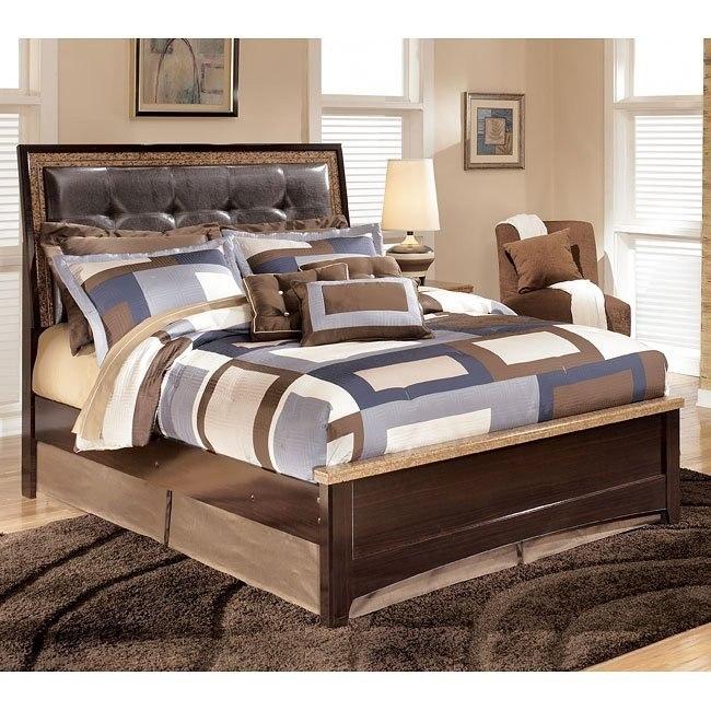 Urbane Upholstered Bed