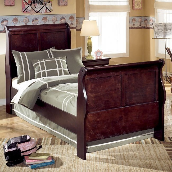 Janel Youth Sleigh Bed