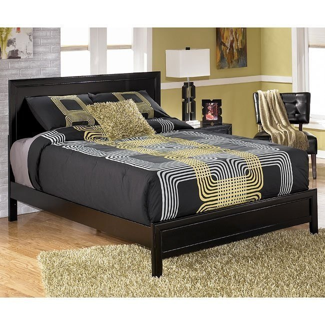 Keyns Panel Bed
