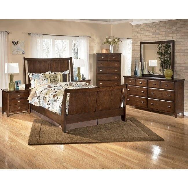 Freemont Sleigh Bedroom Set