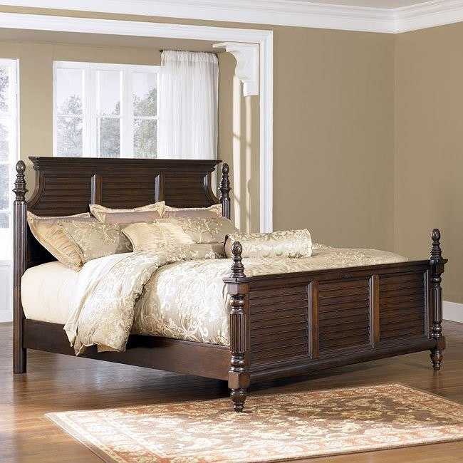 Key Town Panel Bed
