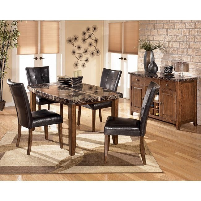 Lacey Boat Shaped Dining Room Set