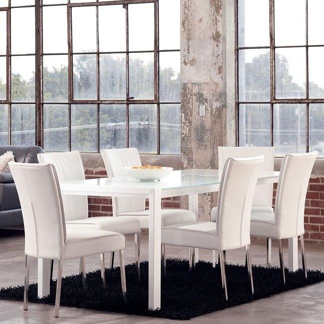 Martina Dining Room Set w/ Baraga Chairs