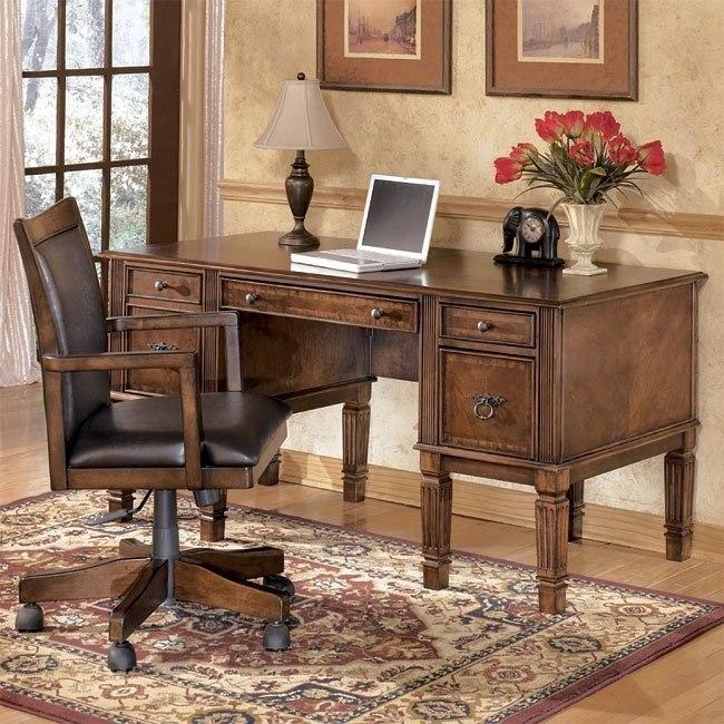 Hamlyn Home Office Set with Storage Desk