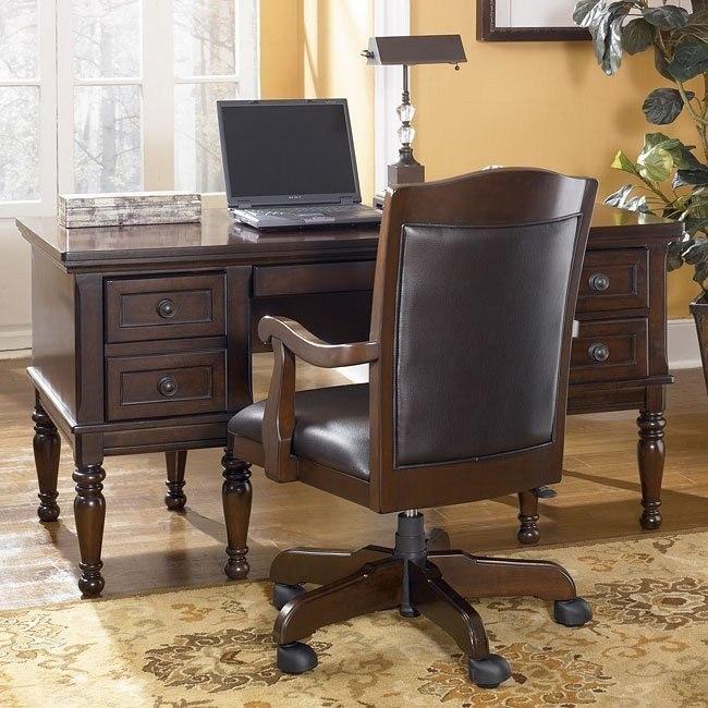 Porter Home Office Set with Storage Desk