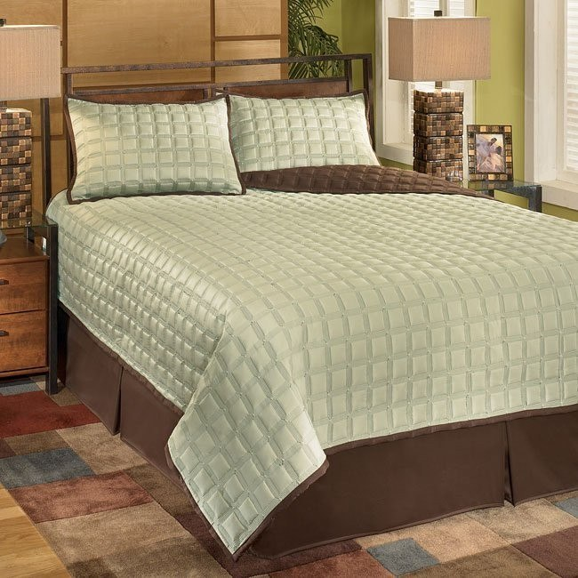 Gridlock - Thistle 4-Piece Bedding Set