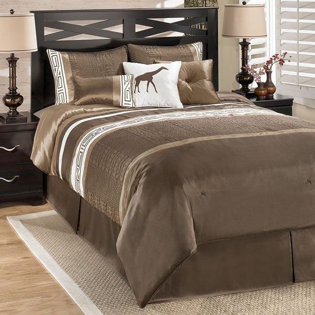 Kenya Brown Bedding Set