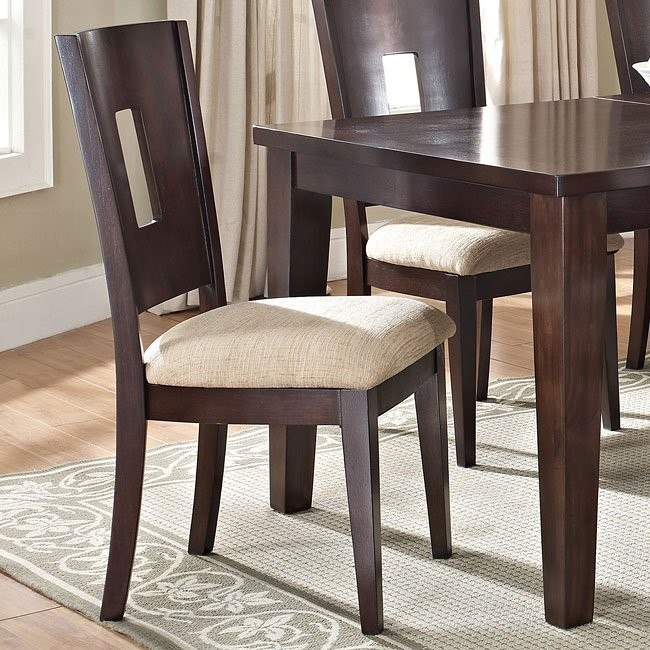 Lakewood Side Chair (Espresso) (Set of 2)