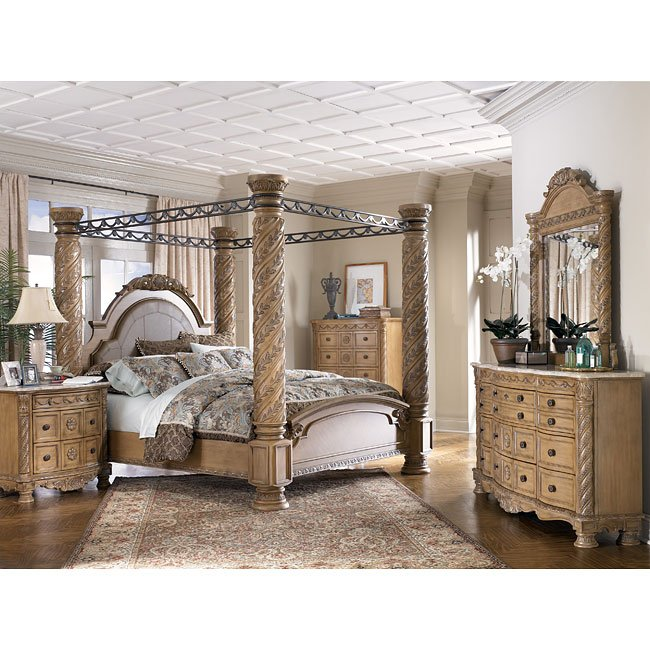 south coast poster canopy bedroom set - Canopy Bedroom Sets